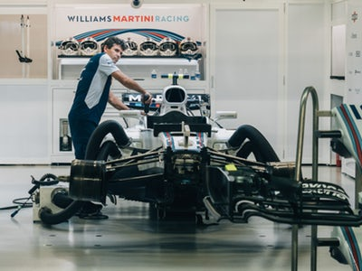 F1 Car Automotive Repair